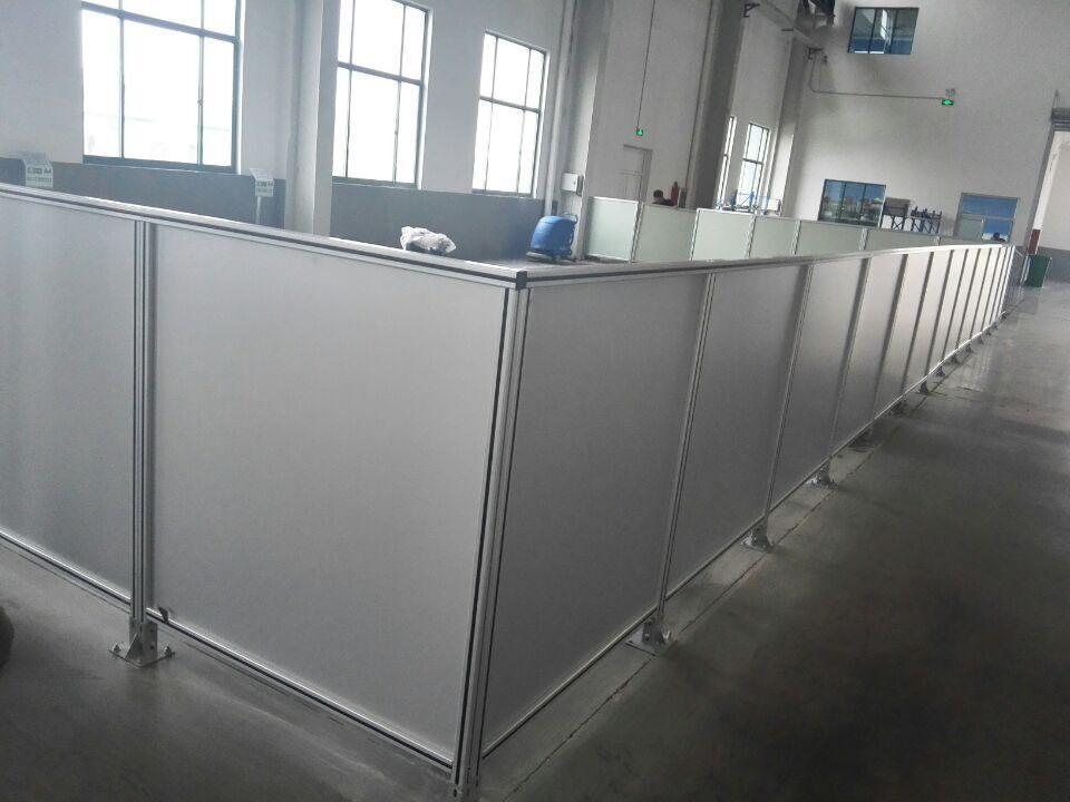 济南聚格铝型材设备铝型材围栏铝材机器防护罩
