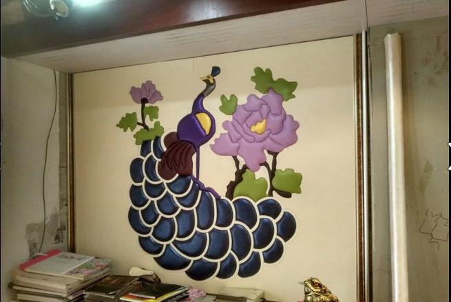 供应传统软硬包背景墙成套设备 软包雕刻机