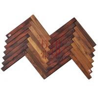 南京人字拼实木地板-印樸堂整木定制家居