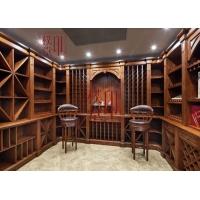 原木酒柜-印樸堂整木定制家居