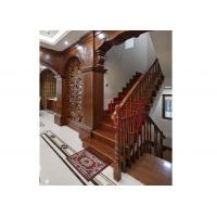 原木楼梯-印樸堂整木定制家居
