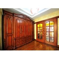 原木衣柜-实木衣柜-印樸堂整木定制家居