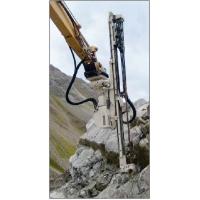 挖机改装液压凿岩机挖改液压凿岩钻机