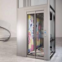 IGV别墅电梯 家用电梯 带框架自动门