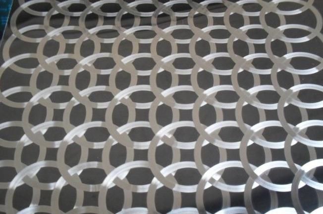 佛山彩色不锈钢拉丝蚀刻花纹镭射工艺卫浴板