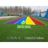 幼儿园彩色跑道专用人造草坪
