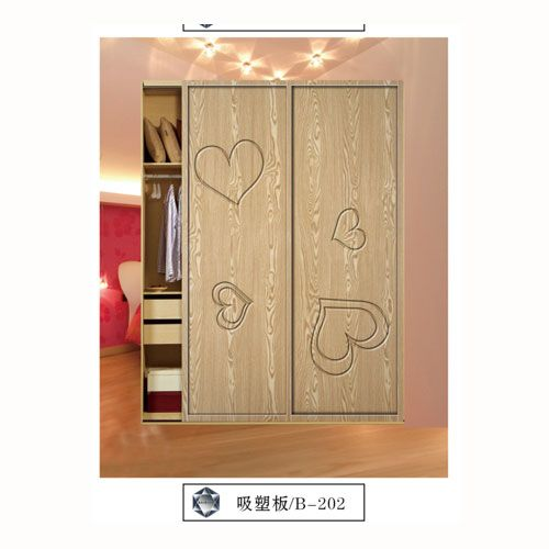 潤禾-吸塑板系列衣柜門