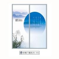 润禾-强化玻璃系列衣柜门