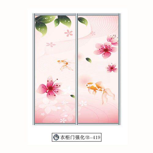 爱情岛-強化玻璃門