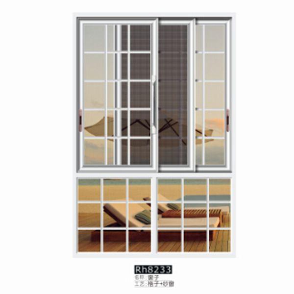 爱情岛門窗 窗子Rh8233 格子+紗窗