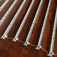 2835带铝槽硬灯条 网格铝槽硬灯条 卷帘式拉布灯箱灯条