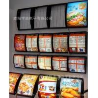 灯箱快餐店点餐饮LED弧形奶茶广告牌肯德基汉堡灯箱订做