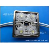 LED发光模组贴片模组LED广告模组四灯铁壳防水透镜