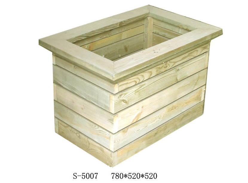 临沂防腐木花箱 花槽