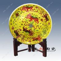 酒店大餐盘 艺术装饰盘 手工大瓷盘