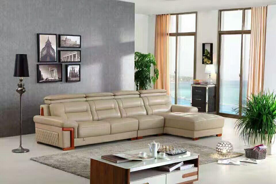 休闲真皮沙发  客厅真皮沙发价格