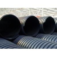 新疆联塑牌高密度聚乙烯钢带增强缠绕波纹排水管