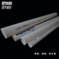 PVC穿线套管工厂车间电线电缆用阻燃绝缘电工管
