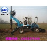 小型旋挖钻机轮式旋挖钻机履带式旋挖钻机1.5米口径钻机