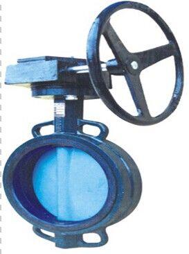 wbgx 涡轮型对夹式蝶阀图片