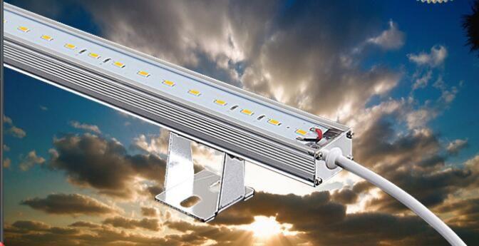 强壮LED线条灯 户外防水LED硬灯条铝槽 护栏灯
