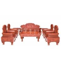莆田热门皇宫椅八件套,就在家得宝家具公司,毕节好运年年红木家
