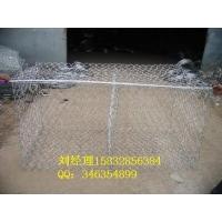 2.7mm丝铅丝石笼网 高尔凡铅丝笼