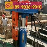 液壓拔樁機械設備 工法樁H型鋼拔樁機