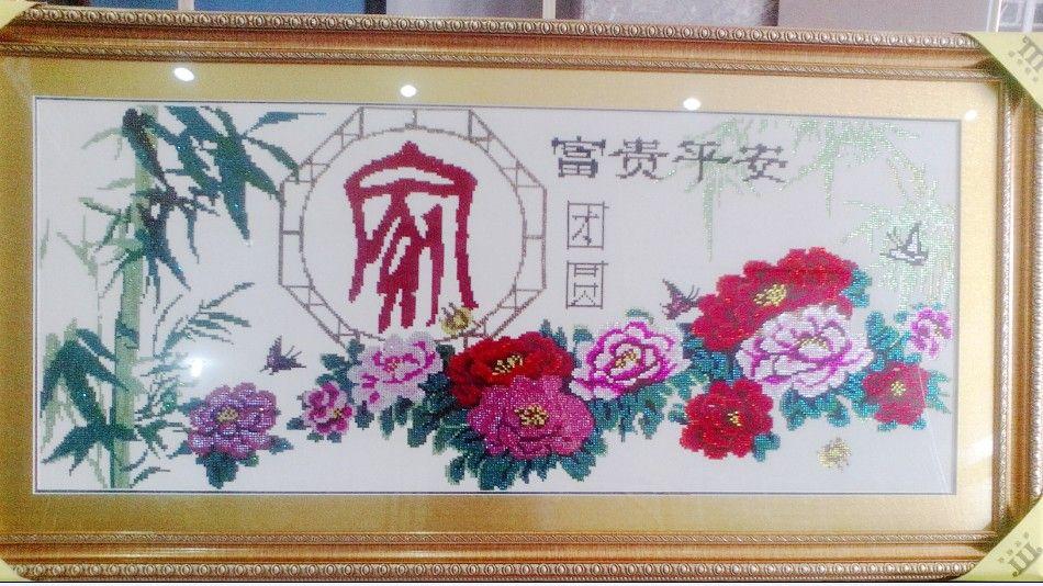 湖南长沙芙蓉区供应十字绣装裱