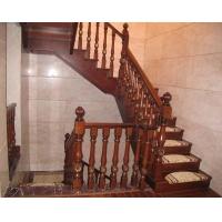 红橡实木楼梯