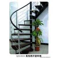 旋转钢木楼梯