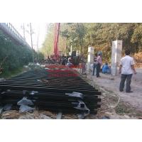 大型工地工程铁艺围墙铁艺护栏栏杆 铁艺大门
