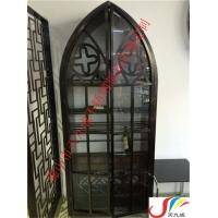 香港不锈钢酒柜,酒店黑钛装饰不锈钢酒柜