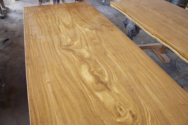 供应柚木大板 实木板材 原木办公桌