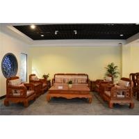 红木家具,红木家具图片缅甸花梨木沙发10件套