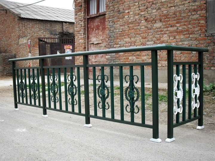 海口铸铝栏杆 大门