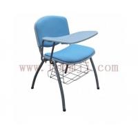培训椅,会议椅,教学椅,带写字板椅,塑钢培训椅