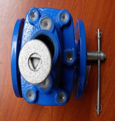 构封闭在阀门内部,取消了原来的 独特的技术结构,使磁扭力阀门具