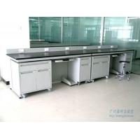 供应实验室家具广州豪耐实验台-边台