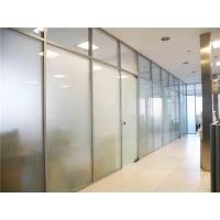 钢化玻璃隔断8mm12mm高强度钢化玻璃墙面安装