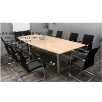 天津板式会议桌,HY3525,钢木会议桌,结合,结实耐用