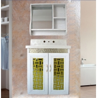 全铝浴室柜-实体图