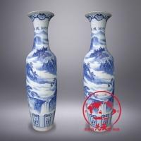 1米8陶瓷大花瓶,青花瓷大花瓶