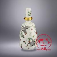 1斤创意陶瓷酒瓶