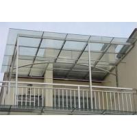 南京不锈钢玻璃雨蓬-不锈钢制品厂家-南京苏艺鑫金属制品