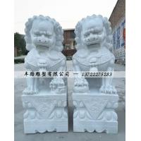 石狮子雕刻 厂家批发石雕石狮子