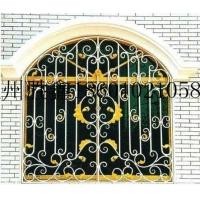 胜鑫铁艺安装欧式 铁艺护窗 防盗窗 栏杆 铁艺护栏