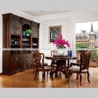 实木餐厅家具系列天然原木