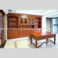 实木整体书柜经典款式量身定制
