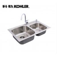 科勒Kohler304不锈钢美卡德水槽厨盆